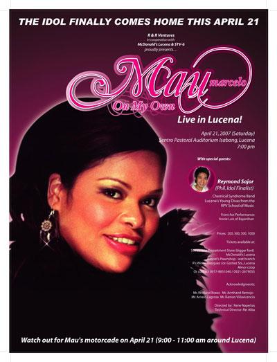 Talaksan:Mau Marcelo Lucena Concert Poster.jpg
