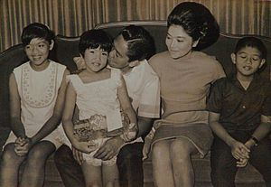 Ferdinand Marcos Family