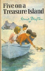 Five on a Treasure Island (novel) coverart.jpg