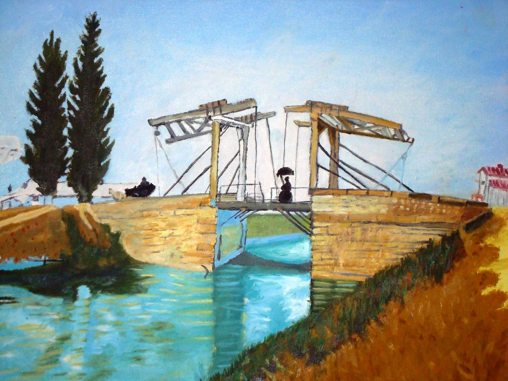 Dosya Bridge At Arles By Cromartie0 Jpg Vikipedi