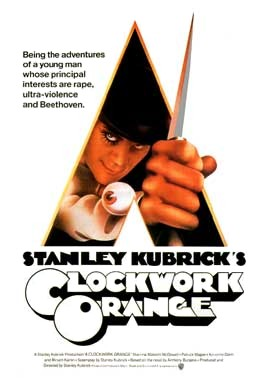 """otomatik portakal""stanley kubrick Aclockwork"
