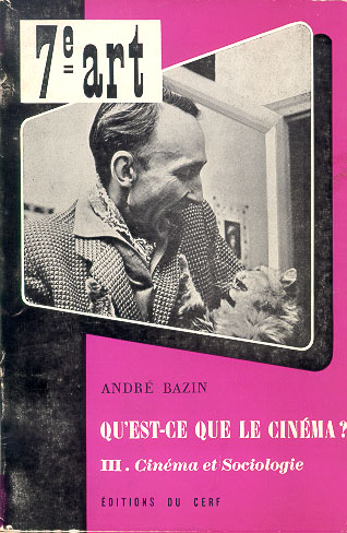 """andre bazin auteur theory Film critic andre bazin had very strong feelings on the subject of montage and realism in his article """"the evolution of the language of cinema"""", he explains his theory that montage, although necessary in many cases to make a film work."""