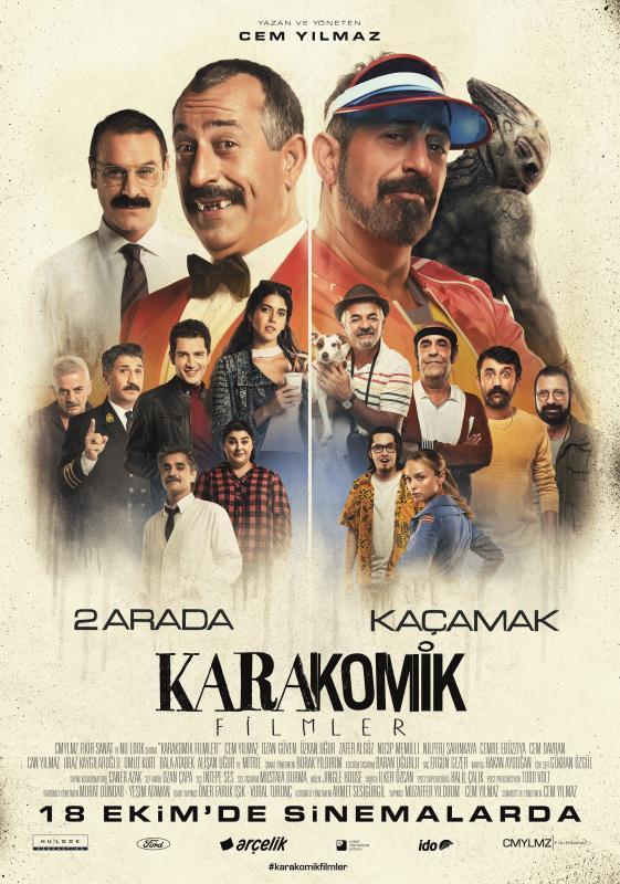 Picture of a movie: Karakomik Filmler: 2 Arada