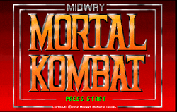 Logo of Mortal Kombat