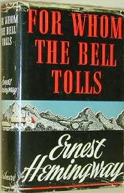 characterization of robert jordan in ernest hemingways for whom the bell tolls Hemingway's for whom the bell tolls, jordan joins loyalist forces to oppose fascists falls in love with maria horse is shot out from under him, and he stages an ambush.
