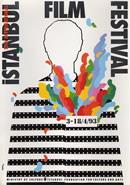 3 Nisan - 18 Nisan 1993 tarihleri arasında düzenlenen 12. Uluslararası İstanbul Film Festivali'nin resmi afişi.