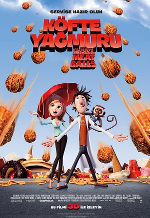 Cloudy with a Chance of Meatballs / K�fte Ya�muru / 2009 / T�rk�e Dublaj /Online Animasyon Film �zle