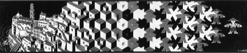 Dosya escher metamorphosis vikipedi for Escher metamorfosi