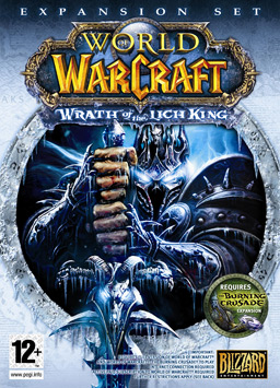 """World of Warcraft: Wrath of the Lich King"" ürün kapak resmi"