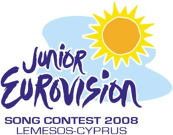 Junior Eurovision Song Contest 2008 logo.png
