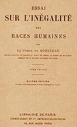 150px-Essai Sur Linegalite de Races Humaines Arthur Gobineau
