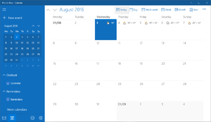 Windows Takvim Windows 10 Calendar.png