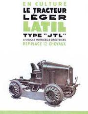 İlk 4WS ve 4WD sistemi Latil marka traktöre uygulandı