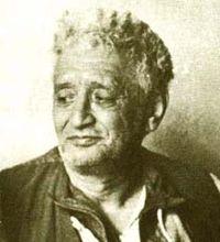 Neyzen Tevfik'in portresi.