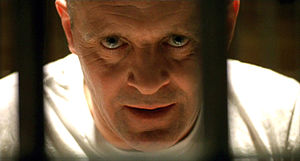 Anthony Hopkins - Hannibal Lecter in The Silence of the Lambs