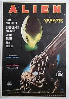 alien türkçe afiş ile ilgili görsel sonucu