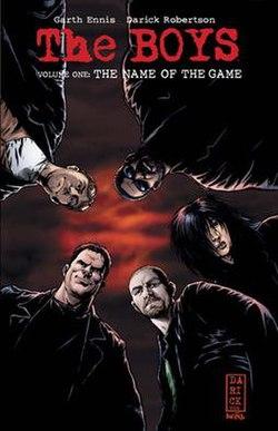The Boys (çizgi roman) - Vikipedi