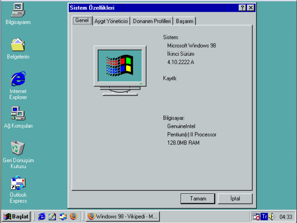 Windows 98 - Wikiwand