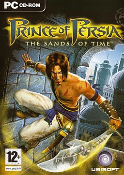 Prince of Persia - The sands of time oyun kapağı.jpg