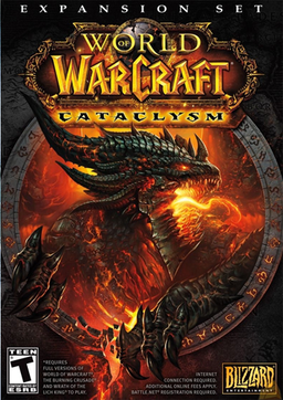 """World of Warcraft: Cataclysm"" ürün kapağı"