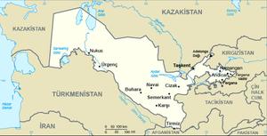 Ülkenin haritası