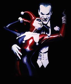 Harley Quinn and the Joker (art by Alex Ross).jpg