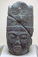 Kültigin Heykeli, Orhun Vadisi'nde bulundu.