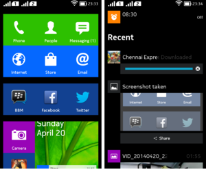 Nokia X platform screenshot home.png