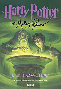 Harry Potter ve Melez Prens kitap kapağı.jpeg