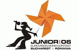 Junior Eurovision Song Contest 2006 logo.jpeg