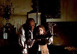 frederick pope red violin