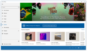 Groove Music Groove Müzik screenshot.png