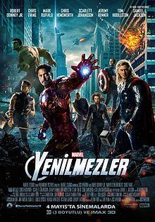 yenilmezler film 2012 vikipedi