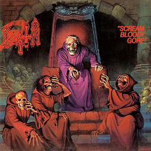 Обкладинка альбому «Scream Bloody Gore» (Death, 1987)