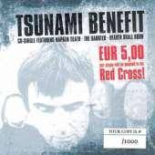 Обкладинка альбому «Tsunami Benefit» (Napalm Death, The Haunted і Heaven Shall Burn, 2005)