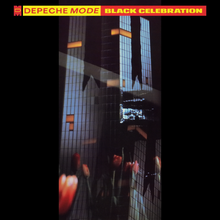 Обкладинка альбому «Black Celebration» (Depeche Mode, 1986)