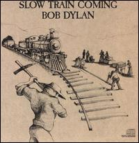 Обкладинка альбому «Slow Train Coming» (Боб Ділан, 1979)