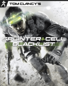 Обкладинка гри «Tom Clancy's Splinter Cell, Blacklist».png