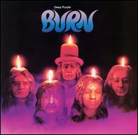 Обкладинка альбому «Burn» (Deep Purple, 1974)
