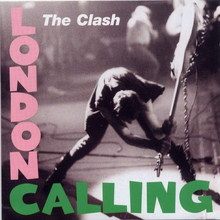 Обкладинка альбому «London Calling» (The Clash, 1979)