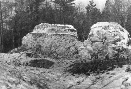 руїни фортеці (поч. XX ст.)