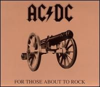 Обкладинка альбому «For Those About to Rock» (AC/DC, 1981)