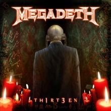 Обкладинка альбому «Thirteen» (Megadeth, 2011)