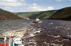 Панорама на річку хантайка