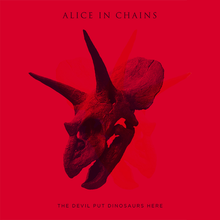 Обкладинка альбому «The Devil Put Dinosaurs Here» (Alice in Chains, 2013)