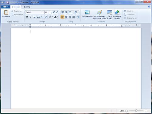 WordPad — Вікіпедія  WordPad — В�...