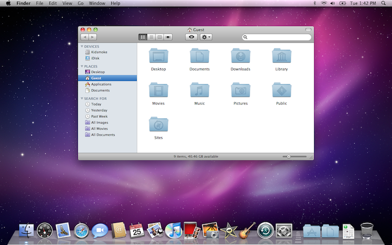 Mac os x snow leopard for Innenarchitektur mac os x