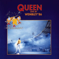Обкладинка альбому «Live at Wembley '86» (Queen, 1992)