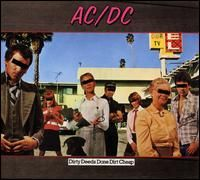 Обкладинка альбому «Dirty Deeds Done Dirt Cheap» (AC/DC, 1976)