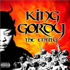 Обкладинка альбому «The Entity» (King Gordy, 2003)